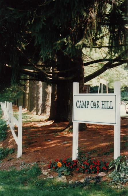 Welcome to Camp Oak Hill.
