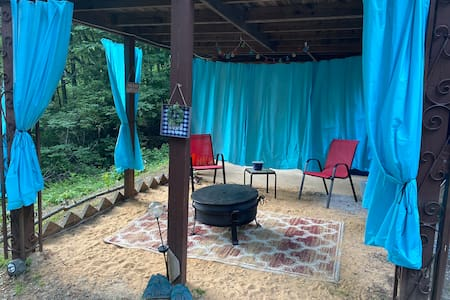 Blue Ridge Hideaway under my porch! ⭐️Free Coffee⭐️