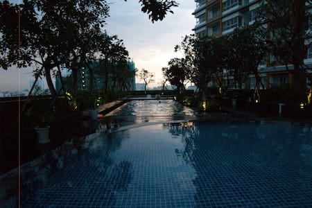 Awesome view- Modern, Peaceful, Swim & Gym, Enjoy. - Ho Chi Minh - Huoneisto
