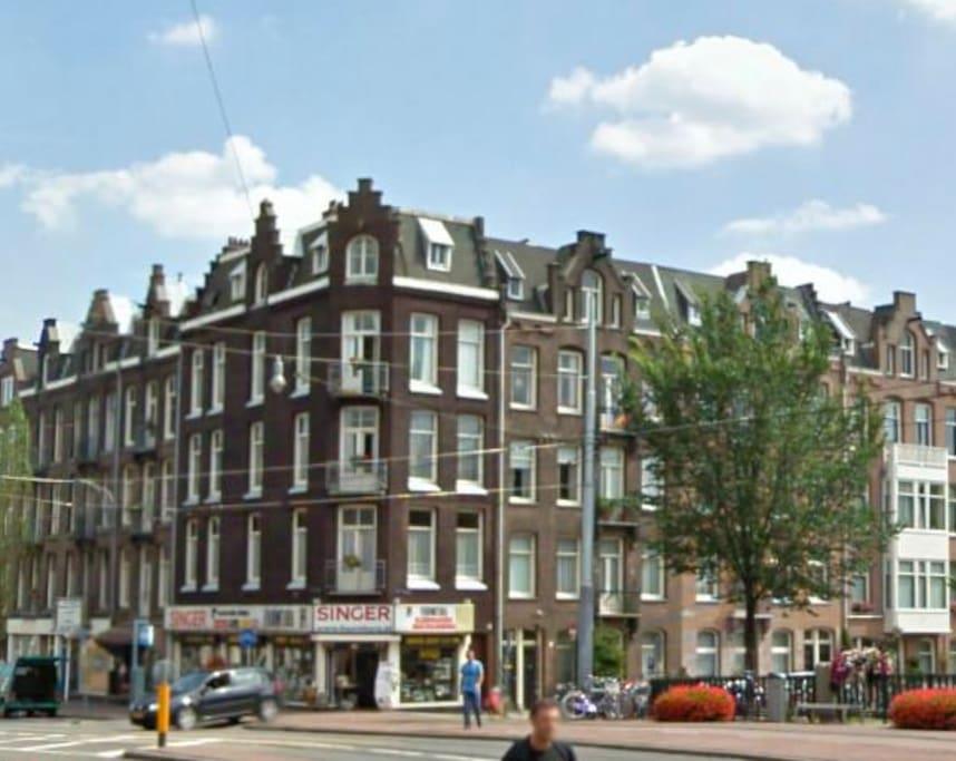 Modrnart apartment jordaan oud west appartements louer for Design apartment jordaan amsterdam