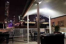 Roof top BBQ area