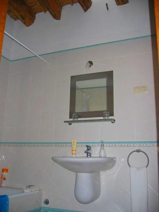 One of the bathrooms. All rooms are en-suite.