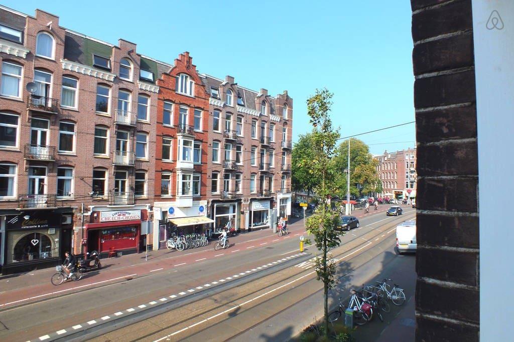 Perfectly located cozy bright studio appartamenti in for Appartamenti in affitto amsterdam