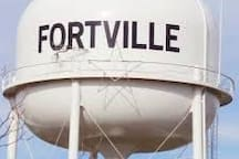 Small town charm close to everything. (Fortville)