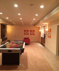 Spacious apt central to Annapolis/Baltimore/DC - Crownsville - Byt