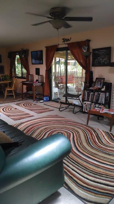 Eclectic, artistic interior