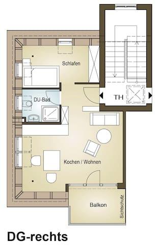DG Wohnung in Kleinmachnow