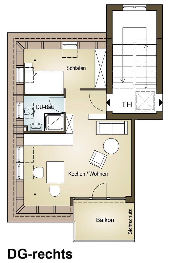 südausgerichtetes Apartment SüdWest Kleinmachnow