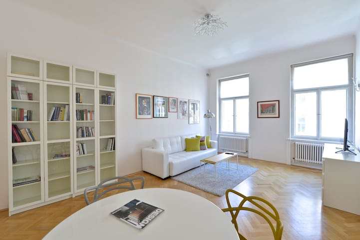 LUXURY APT WENCESLAS SQ. + TERRACE - Prague - Apartment