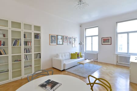 LUXURY APT WENCESLAS SQ. + TERRACE - Praga - Apartament