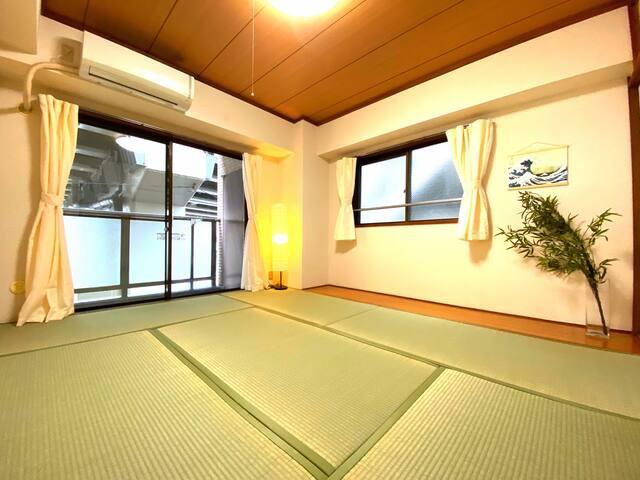 NEW OPEN!Japanese room!東池袋駅徒歩5分!無料Wi-Fi有!Elevator有