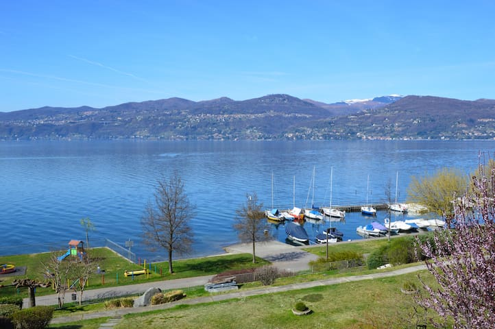 """""""La Casetta di Gina"""", Lago Maggiore - Ispra - Wohnung"""