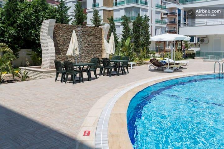 Уютная комната в шикарном комплексе - Antalya - Loft