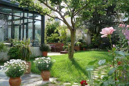 Chambre sur jardin - Reims
