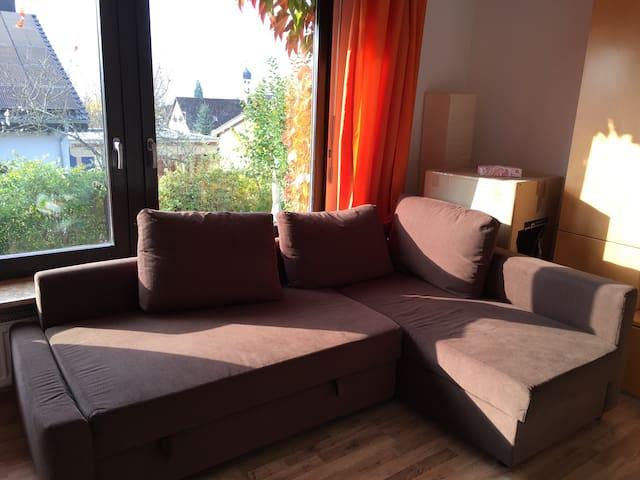 Nettes Zimmer in großer Wohnung - Öhningen - Outros