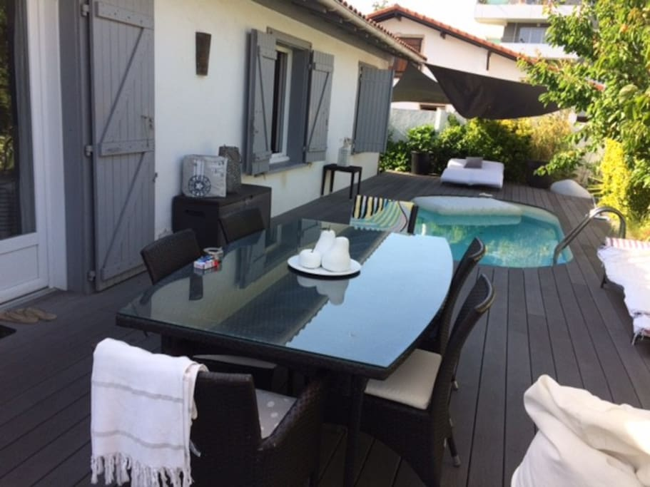 biarritz anglet plages chambre d 39 h tes bed breakfasts for rent in anglet nouvelle. Black Bedroom Furniture Sets. Home Design Ideas