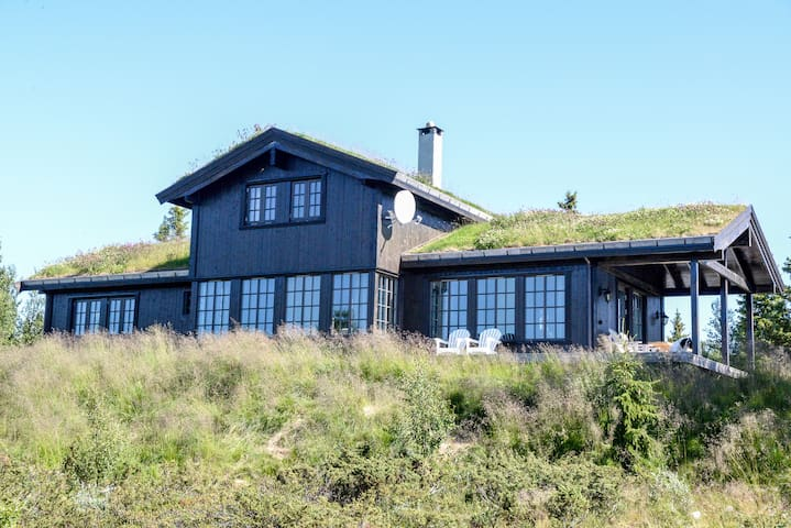 Moderne hytte, Golsfjellet - Gol - Cabana