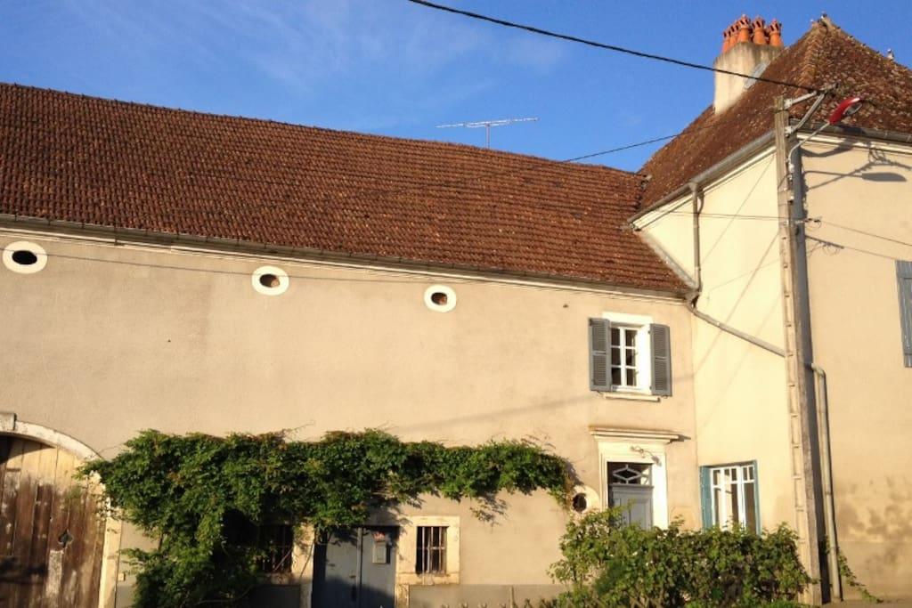 Gelegen in Vougécourt, dorpje met bakkertje