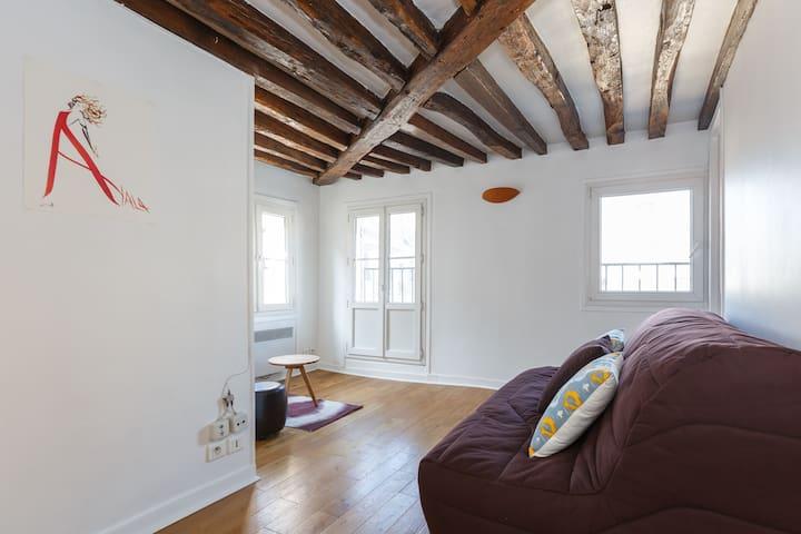 Charming flat in Saint Germain - Paris - Apartemen