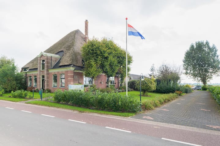 Charming Typical Dutch Farm. - westwoud / hoorn - House