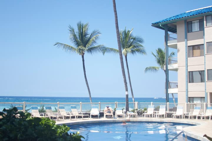 C2- Kona Reef Pool & Partial Ocean View!