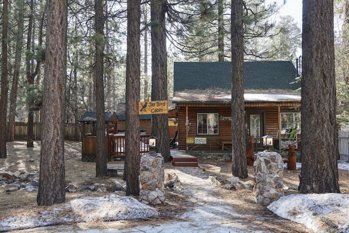 Jaybird Cabin w/SPA, walk to Pine Knot Trail