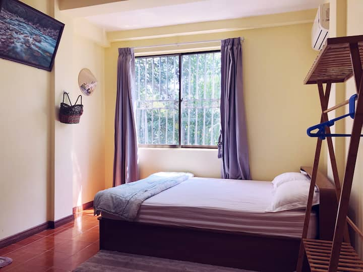 Yangon Happy Angel – Double Room _3 mins Inya Lake