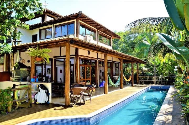 Itamambuca House-1ª casa da praia