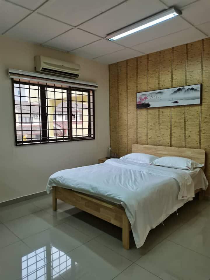 Private Double Bedroom@KL/Pandan Jaya吉隆坡独立双人房中国风民宿
