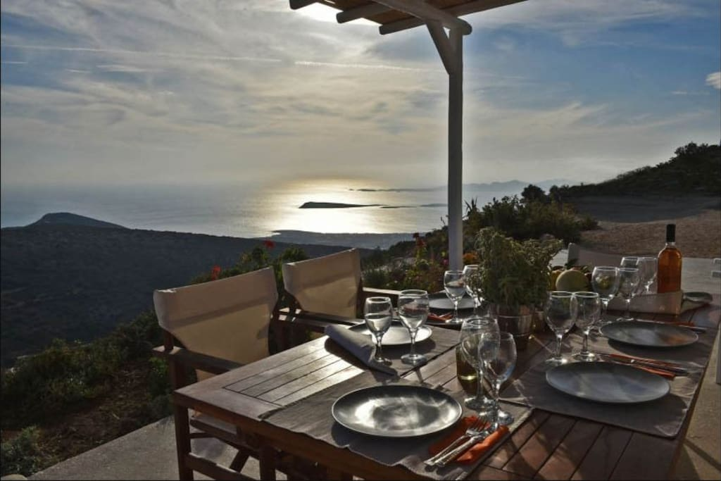 Terrace at dawn