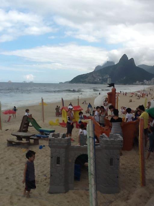 Arpoador beach, the best of Ipanema