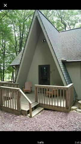Mountain View Chalet in Lake Harmony