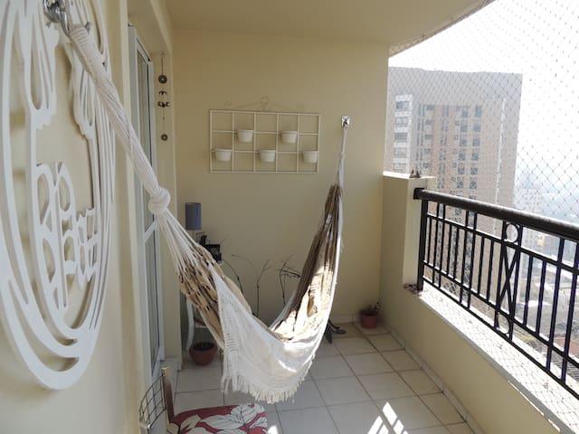 Silencioso apartamento c/garagem perto av.Paulista - São Paulo - Appartement en résidence