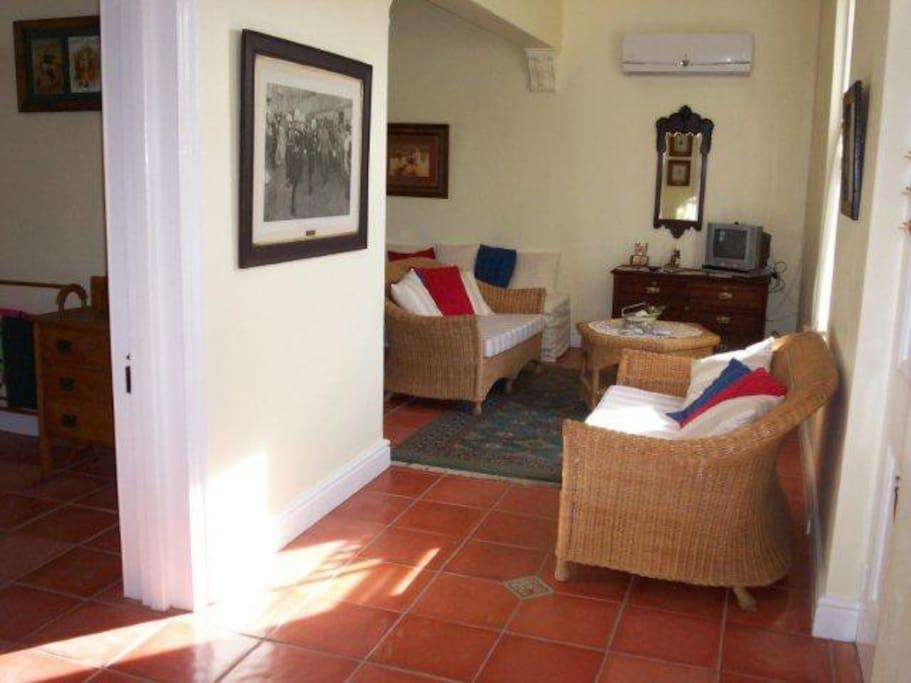 lounge and kichenette