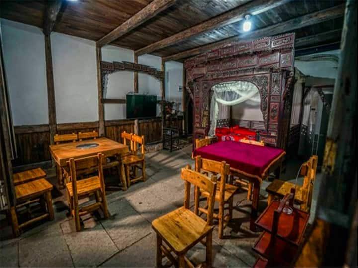 泸州尧坝客栈——传统洞房
