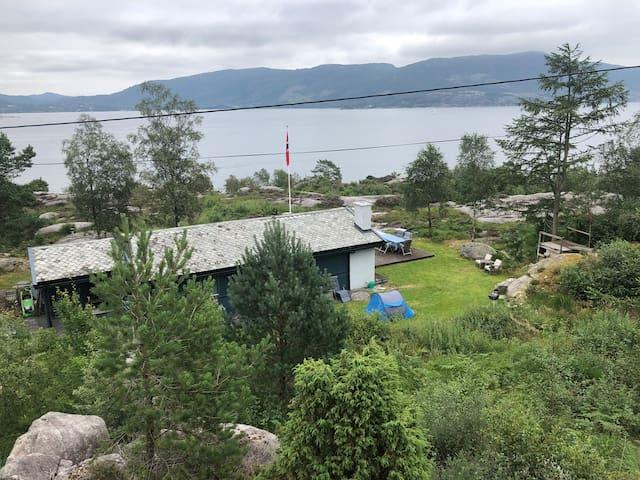 Nordic fjord - panorama sea view