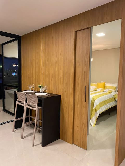 STUDIO LUXURY - Sophisticated loft in the best location of Campo Grande