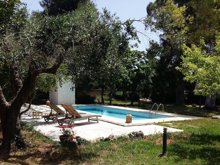 Villa in campagna con piscina Grecìa Salentina