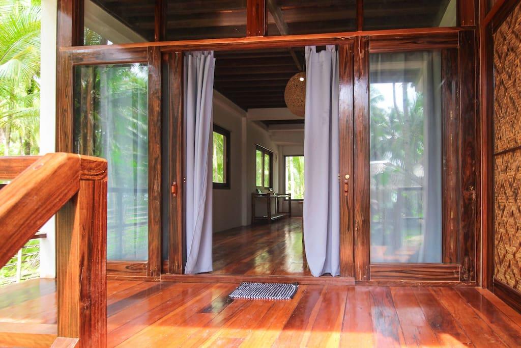 Entrance to Villa Amakan