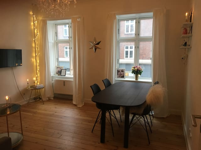 Nice apartment close to the city - Copenhaguen