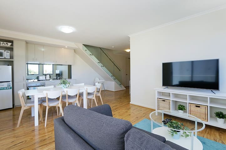 Stunning Two-Storey Apartment in Perth's CBD