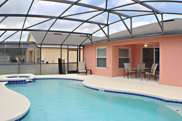 Pool and Spa can be heated for a fee!