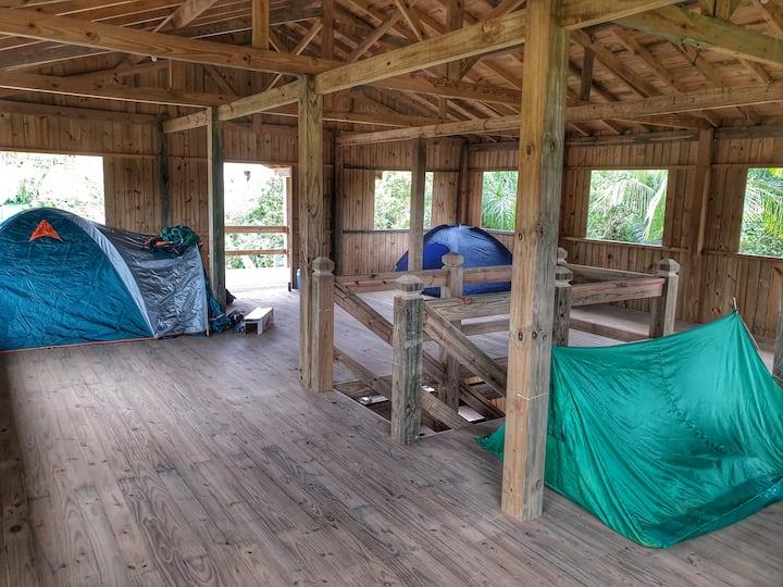 Área de Camping - Arte da Tribo Hostel e Camping