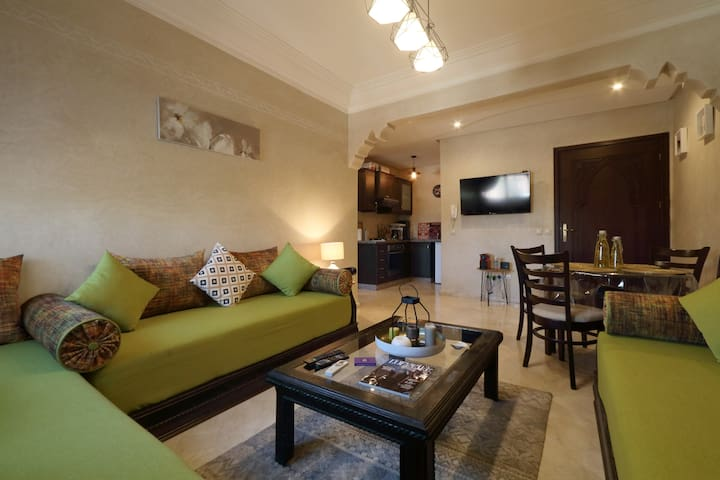 Cozy appartement en plein centre de Marrakech