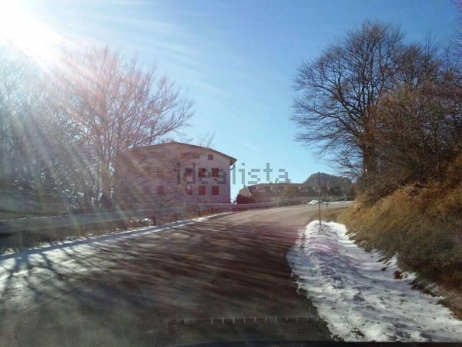 Mansarda panoramica pizzoferrato valle del sole for Affitti cabina sole valle