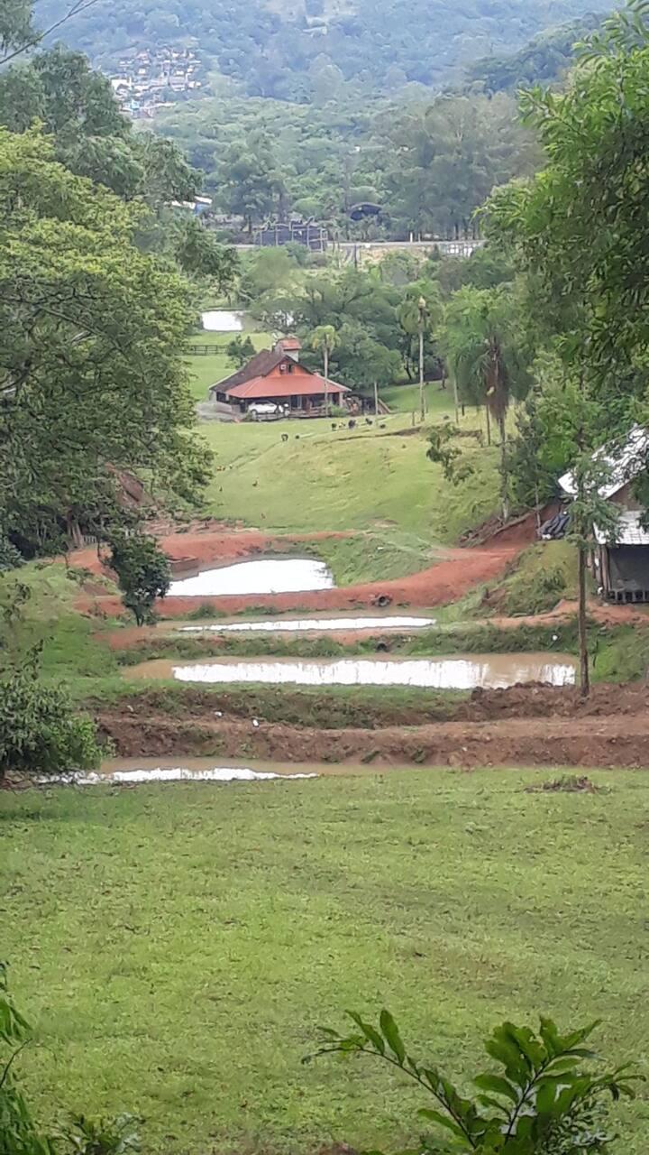 cabana de campo perto de gramado