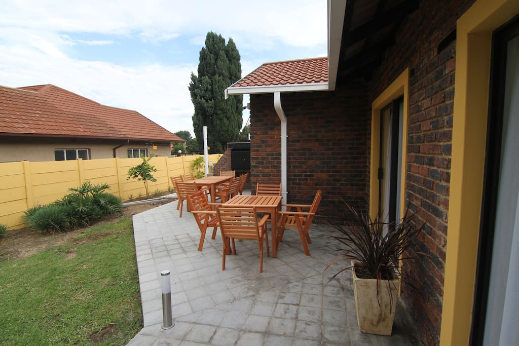 Your Patio and braai / BBQ