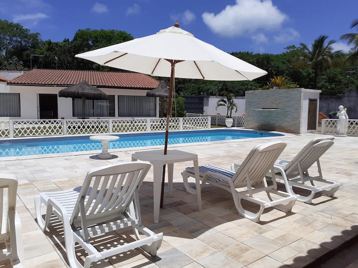 Jd Virginia 20 adultos com piscina e churrasqueira