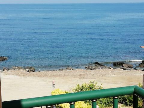 VistaMar.... apartament przy plaży na Morzu Śródziemnym