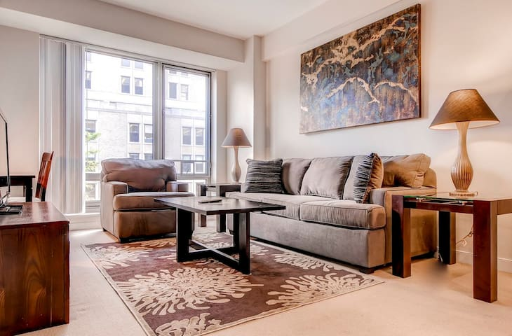 Lux Furnished 1-BR Apartment at West End!